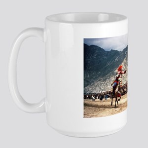 Large Mug - Tibetan mounted archer